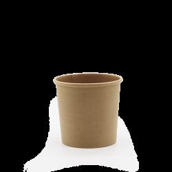 360 ml (12 oz.) brauner Suppenbecher