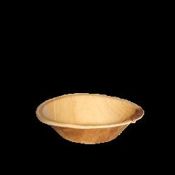 Schale aus Palmenblatt tief - 13 cm