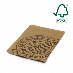 Papiertüte 1,5 kg, Premium Qualität, FSC® Zertifiziert
