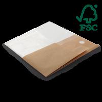 Snackbeutel  FSC® Zertifiziert, 21,5 x 22,5 cm