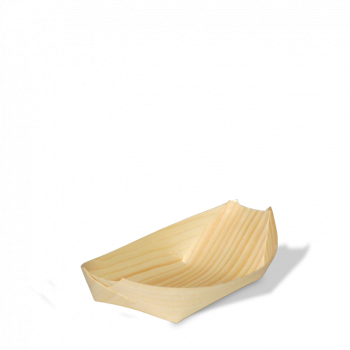 Holzboot 17 cm