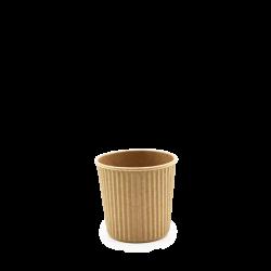 Espresso Becher, geriffelt - 400 ml / 4 oz