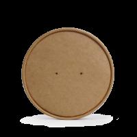 Deckel für braunen Suppenbecher, 16 oz. (450 ml)